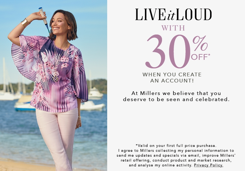 Women's Plus Size Clothing | Millers | Free Delivery