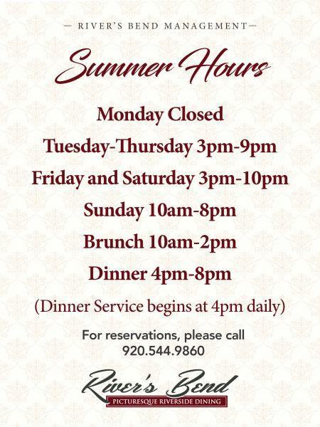 River S Bend Green Bay Fine Dining Steakhouse Restaurant